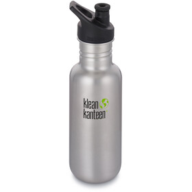 Klean Kanteen Classic Bottle Sport Cap 532ml Brushed Stainless